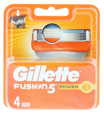 Gillette Fusion 5 Power Blades 4'S For