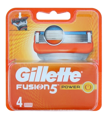 Gillette Fusion Power Blades 4'S