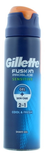 GILLETTE FUSION SHAVING GEL 170ML PROGLIDE