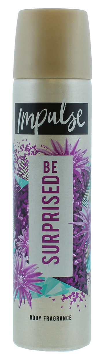IMPULSE BODY SPRAY BE SURPRISED  DEODORANT 75ML