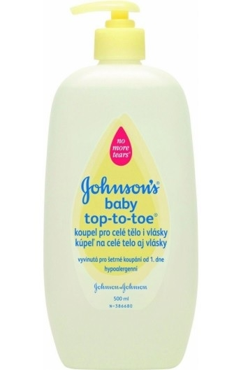 Johnsons Baby 500ml Wash Top To Toe