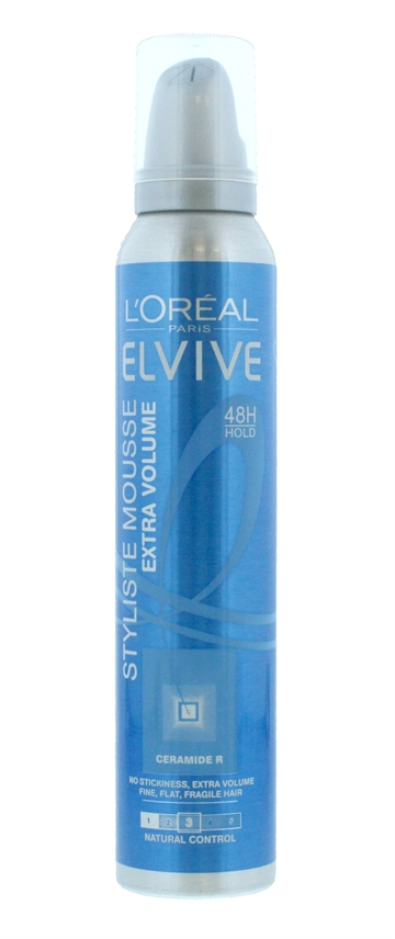 L'Oreal Elvive Extra Volume Mousse Styliste 200ml