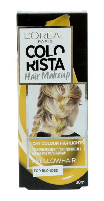 L'OREAL COLORISTA HAIR MAKE-UP BLND YEL 30ML