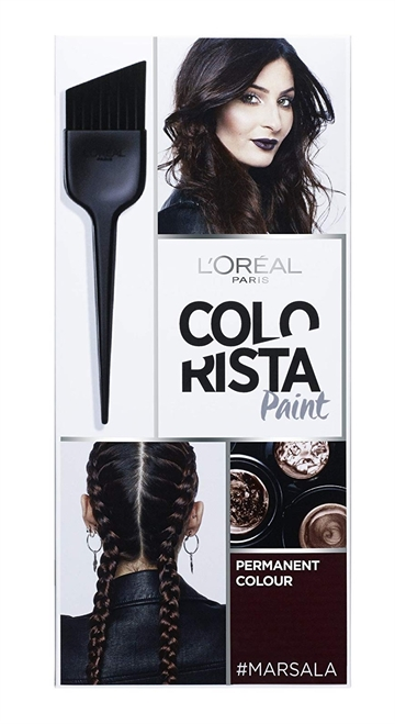 LOREAL COLOR MARSALA HAIR