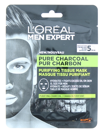 L'Oreal Men Expert Mask Pure Cholcoal