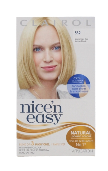 CLAIROL NICE'N EASY HAIR COLOR NAT SUMMER BLND SB2 E