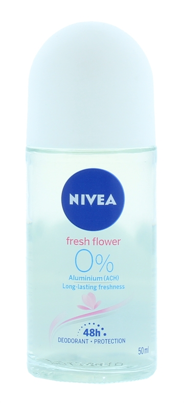 Nivea 50ml Roll On Flowers 48Hr Protection