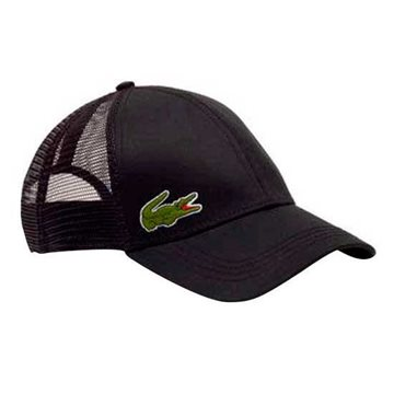 LACOSTE Cap Black One Size