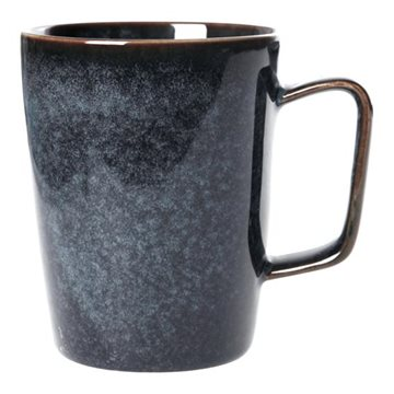 Mug, H 10,5cm, W 12cm, D 9cm, Light blue