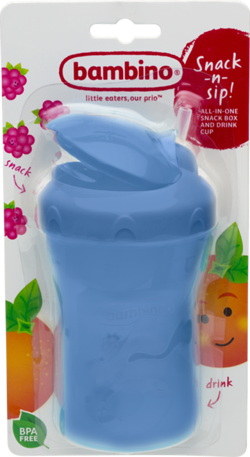 Snack 'n' Sip Cup 280ml, Bambino
