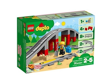 LEGO DUPLO Town 10872 Train Bridge and Tracks