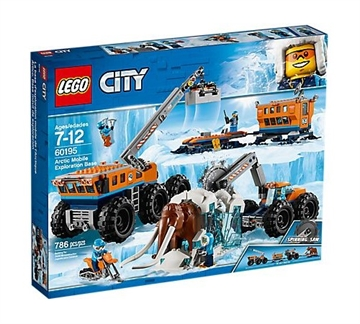 LEGO City Arctic Expedition 60195 Arctic Mobile Exploration Base