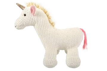 Bamse - Unicorn i stickat