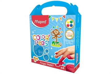 "Fingerfärger ""Color'Peps"" x4 MF"