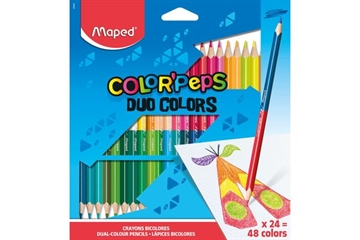 Maped Color'Peps, Duo, 24/48 färger