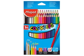 Maped Color'Peps Crayons - 36 st.