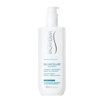Biotherm Biosource Eau Micellaire 400ml Cleanser + Make Up Remover- All Skin Types Even Sensitives