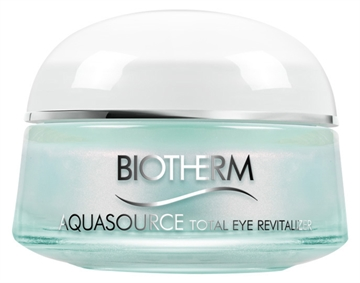 Biotherm Aquasource Total Eye Revitalizer 15ml For Sensitive Skin - Cooling Effect Eye Care - Bags - Dark Circles - Dehydration Lines