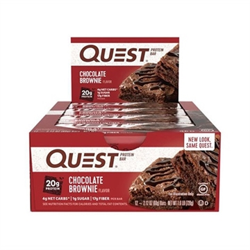 Quest Bar - chocolate brownie 12x60g