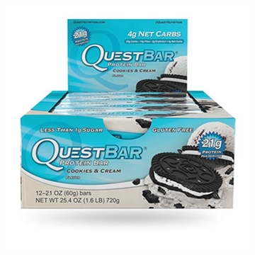 Quest Bar - cookies & cream 12x60g