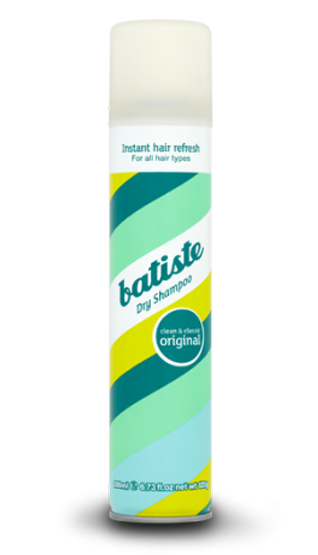 Batiste Original Clean Dry Shampoo torrschampo 200 ml