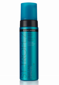 St.Tropez Self Tan Express Bronzing Mousse 200ml 1 Hour Light/2 Hours Medium/3 Hours Dark - For all skin tones