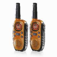 Topcom RC-6404 tvåvägsradio 8 kanaler 446 MHz Svart, Orange