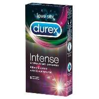 Durex Intense 6 Ribbed & dotted 6 styck