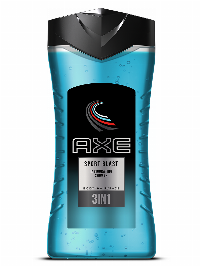 Axe Shower Gel 250ml Sports Blast