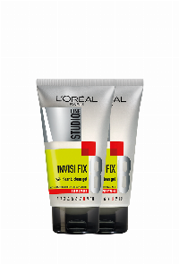 L'Oreal Paris Studio Line Invisi Fix 24H Clear & Clean Gel Super Strong 150 ml hårgele Unisex