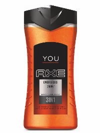 Axe Shower Gel 250ml You Energised
